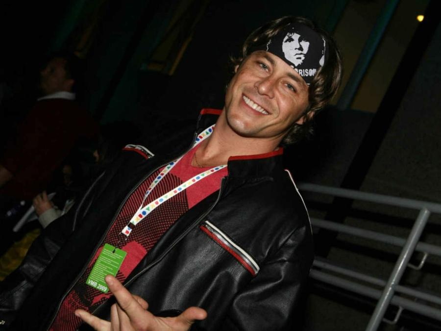 Theo Becker no VMB, premiação da MTV Brasil 2009