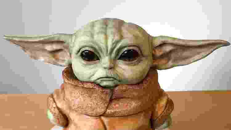 """Bolo do """"Bebê Yoda"""", criado pela confeiteira Natalie Sideserf  - Instagram/sideserfcakes - Instagram/sideserfcakes"""