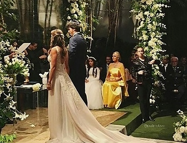 Patrícia Abravanel e Fábio Faria se casam em São Paulo