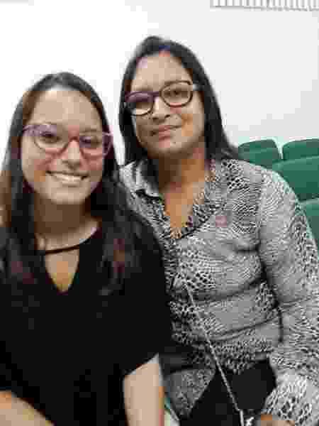 Irmã e mãe de Raissa Barbosa - Arquivo pessoal - Arquivo pessoal