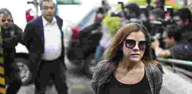 João Santana e sua mulher, Monica Moura - STR/AFP -23.fev.16