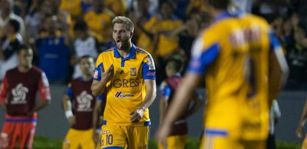 Gignac comemora gol de Tigres