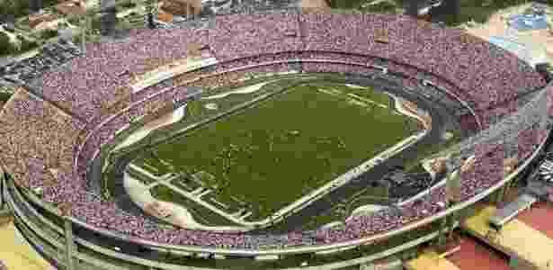 Setores do Morumbi podem passar a ter o nome de ex-jogadores - Rubens Chiri /SaoPauloFC.net