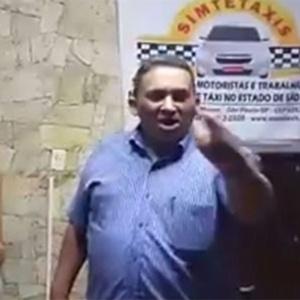 Presidente do Simtetaxis (Sindicato dos Motoristas e Trabalhadores nas Empresas de Táxi de São Paulo), Antonio Matias