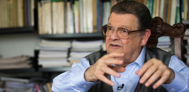 O ex-ministro da Fazenda Delfim Netto