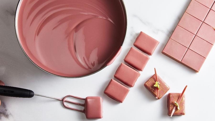 Chocolate Ruby, da marca belga Callebaut, chega ao Brasil - Divulgação