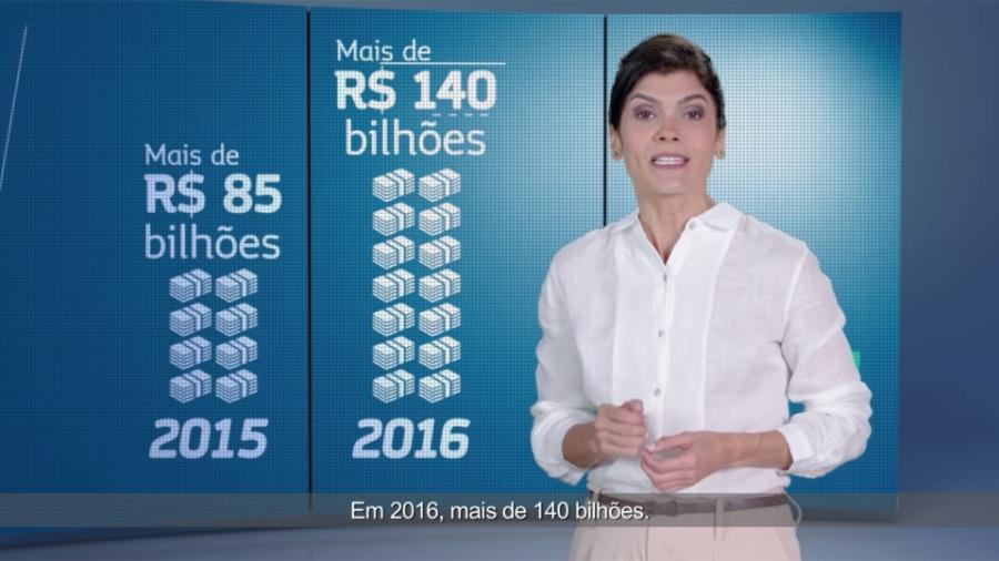 Governo do ex-presidente Michel Temer investiu em publicidade para aprovar a Reforma da Previdência - Reprodução