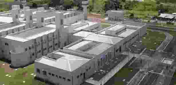 Vista da penitenciária de Tremembé - Divulgação/Governo de SP