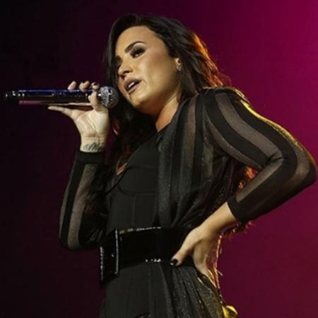 Demi Lovato em show no Z Festival, em São Paulo - Iwi Onodera/Brazil News