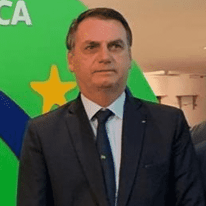 Bolsonaro afirma que tributo poderia cair de 16% para 4%. - Reprodução/Twitter