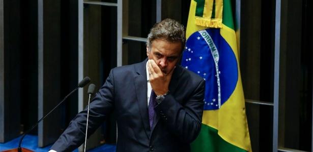 Suplente elogia Aécio e se diz triste por possibilidade de assumir cargo - Pedro Ladeira-4.abr.2017/Folhapress