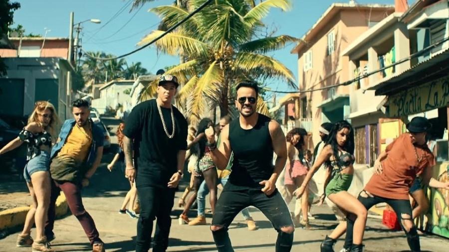 """Cena do clipe de """"Despacito"""", de Luis Fonsi com Daddy Yankee - Reprodução"""
