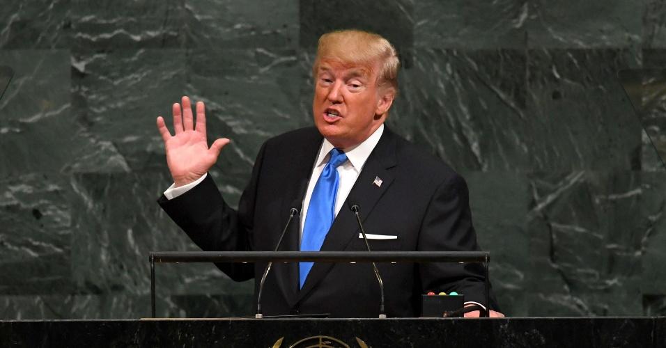 'Já conquistei mais do que quase todos os presidentes': ONU se diverte com exageros de Trump