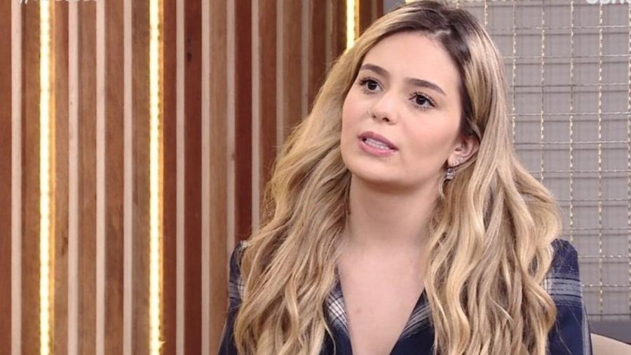 """Após o BBB21, Viih Tube vê vídeos de sua falsidade descarada e tem reação surpreendente: """"Me senti malandra"""" - Reprodução/TV Globo"""
