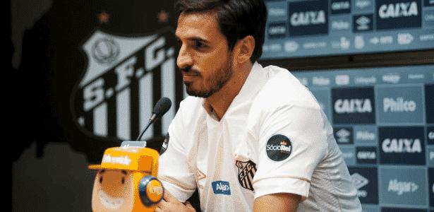 Bryan Ruiz apresentado no Santos - Ivan Storti/Santos FC - Ivan Storti/Santos FC