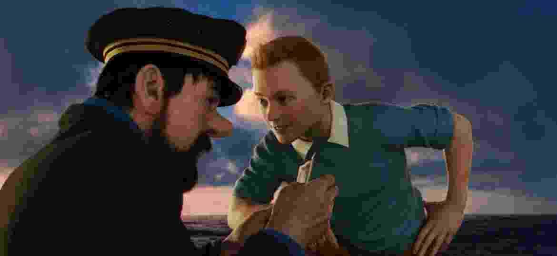 """Cena do filme """"As Aventuras de Tintin"""" - Divulgação"""