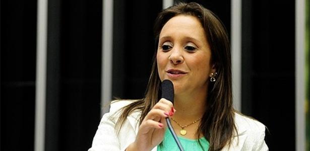 A deputada Renata Abreu, presidente do PTN, que virará Podemos em dezembro
