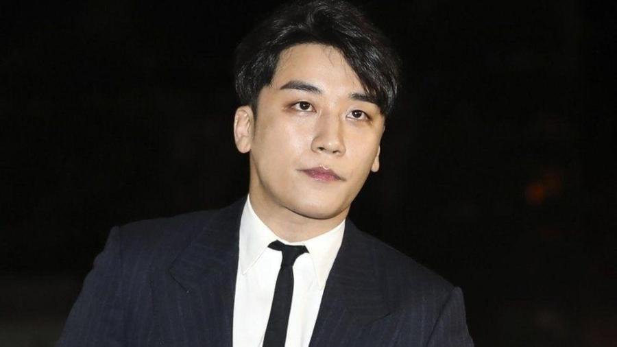 Lee Seung Hyun, o cantor de K-Pop Seungri, teve pena anunciada hoje - GETTY IMAGES