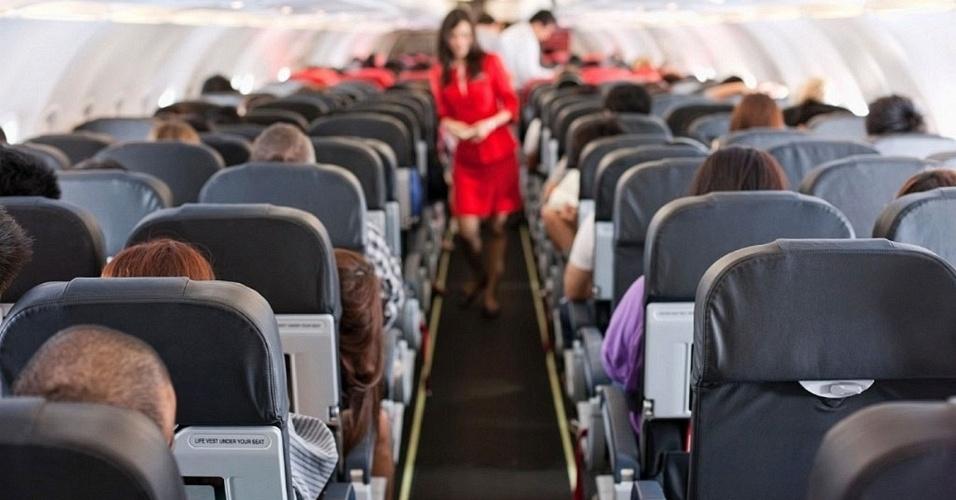 Assentos em avião; banco de passageiro