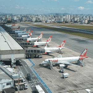 Aeroporto de Congonhas, em São Paulo - Vinícius Casagrande/UOL