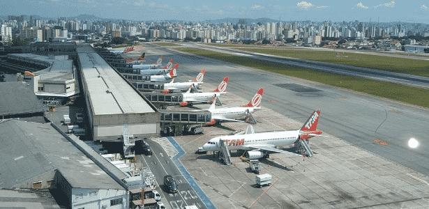 Aeroporto de Congonhas - Vinícius Casagrande/UOL