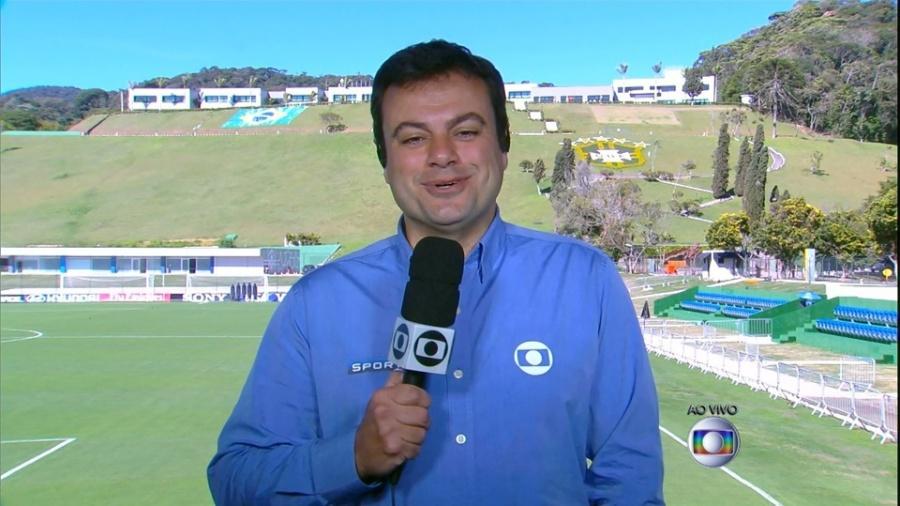 Eric Faria, repórter da Globo - Reprodução