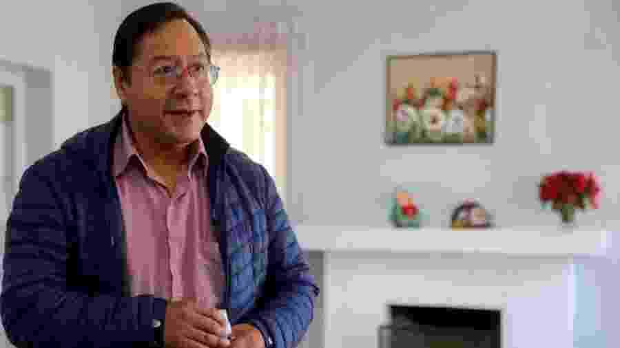 O presidente da Bolívia, Luis Arce, que tomou posse no dia 8 de novembro - EPA