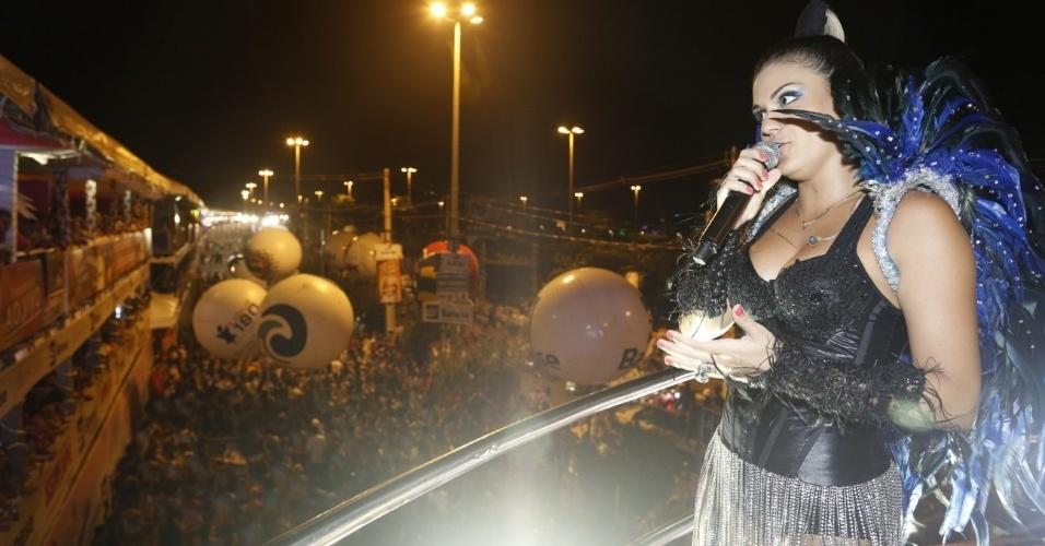 17.jan.2013 - Maysa Reis no Circuito da Folia no Pré-Caju Verao 2013