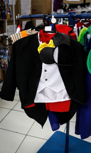 6.fev.2013 Já para os meninos, existe o Mickey, que custa R$52
