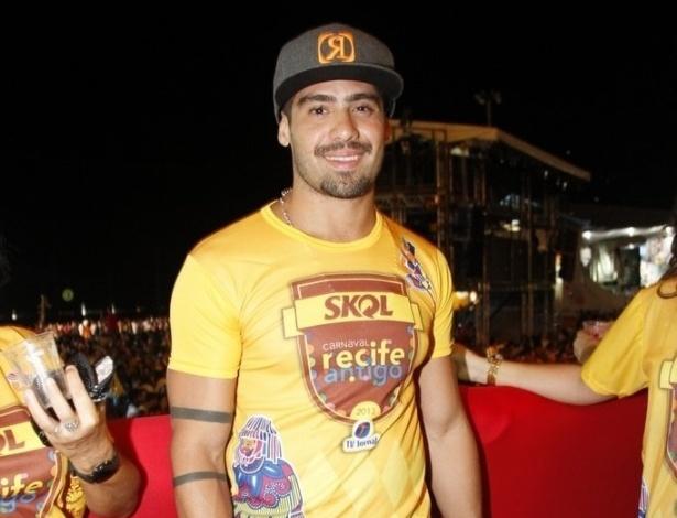 8.fev.2013 - O BBB Yuri durante o Carnaval de Recife