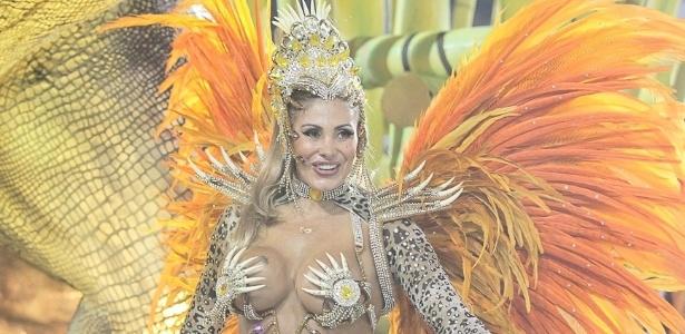 Angela Bismarchi como destaque da Tom Maior em 2013 - Alexandre Schneider/UOL