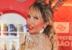 Sabrina Boing Boing posa para foto em camarote paulistano - Divulgação