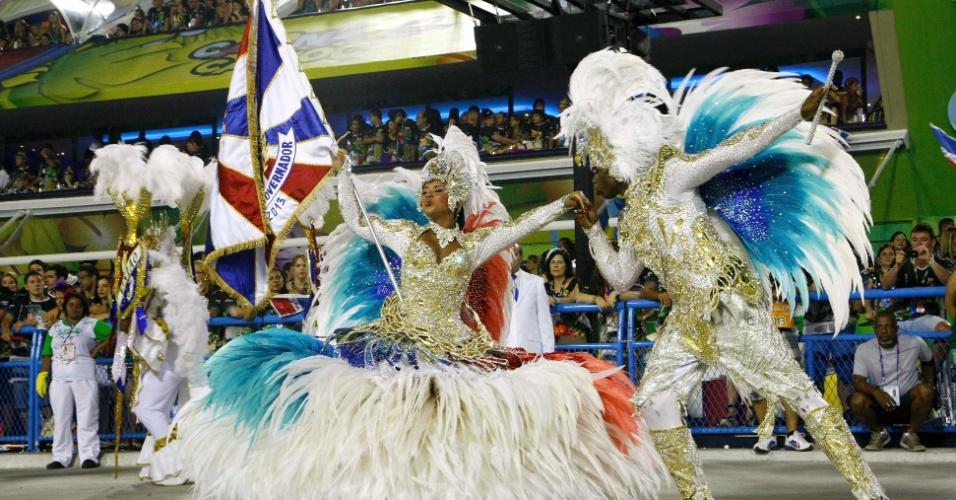 11.fev.2013 - Neste ano de centenário de Vinícius de Moraes, a União da Ilha do Governador comemora 60 anos, fundada por três amigos em 1953