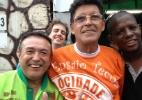 """""""Vitória reafirma o título de 2012"""", diz integrante da Mocidade Alegre - Carlos Minuano/UOL"""