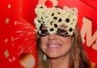 De máscara, Luana Piovani posa para foto com Pedro Scooby - Marcelo Dutra/AgNews