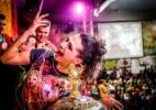 """""""Sou da comunidade e esse é o diferencial"""", diz rainha de bateria da Mocidade Alegre - Leandro Moraes/UOL"""