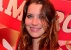 Nathalia Dill posa para foto em camarote - Marcelo Dutra/AgNews
