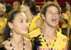 Débora Nascimento e José Loreto dançam em camarote no Rio - Cleomir Tavares/Divulgação
