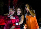 Daniela Mercury recebe Gaby Amarantos e Ivete Sangalo no bloco Crocodilo