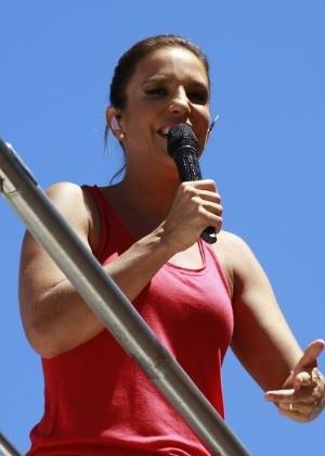 BA: Ivete Sangalo encerra Carnaval de Salvador com arrastão (Foto: AgNews)
