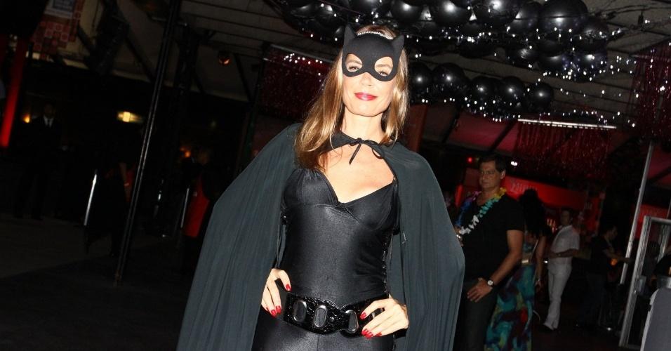 15.fev.2013 - Alexia Dechamps no Baile do Glamurama no MAM (Museu de Arte Moderna), no Rio de Janeiro