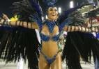 """""""Já me sinto uma carioca"""", brinca Sabrina Sato no desfile da Vila Isabel - Marcelo de Jesus/UOL"""
