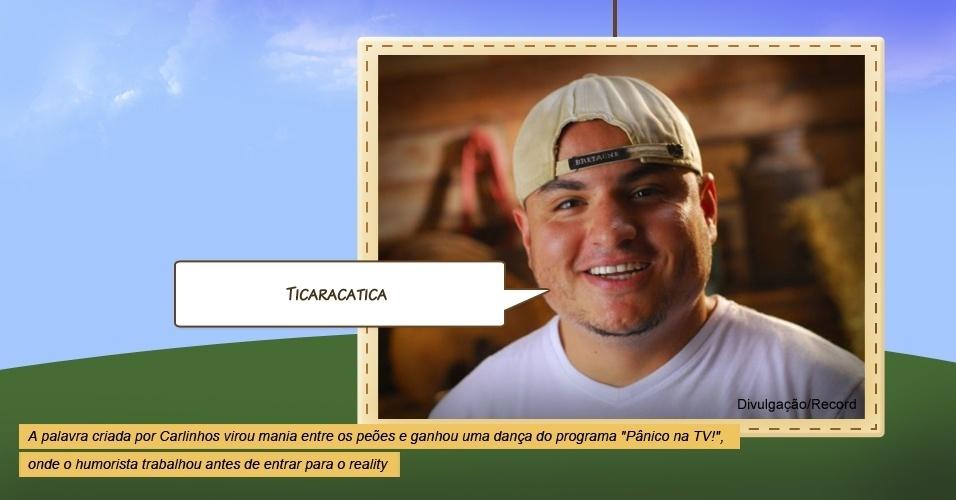 """Carlinhos Silva em """"A Fazenda"""""""