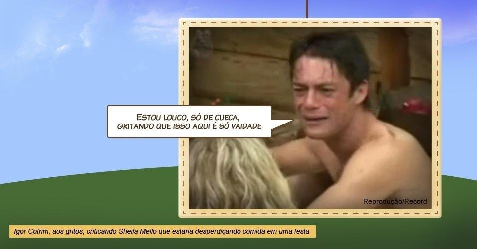 """Igor Cotrim em """"A Fazenda 2"""""""