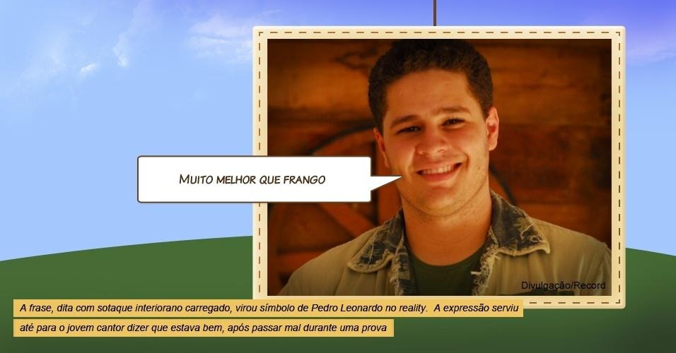 """Pedro Leonardo em """"A Fazenda"""""""