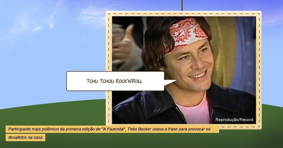 """Theo Becker em """"A Fazenda"""""""