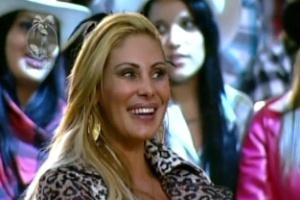 """Ângela Bismarchi diz para Britto Jr. que terá que """"achar um canto para se masturbar"""" (29/5/12)"""
