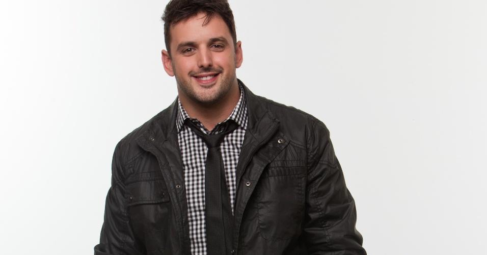 "Rodrigo Capella, humorista de 29 anos, foi integrante do programa ""Comédia MTV"""