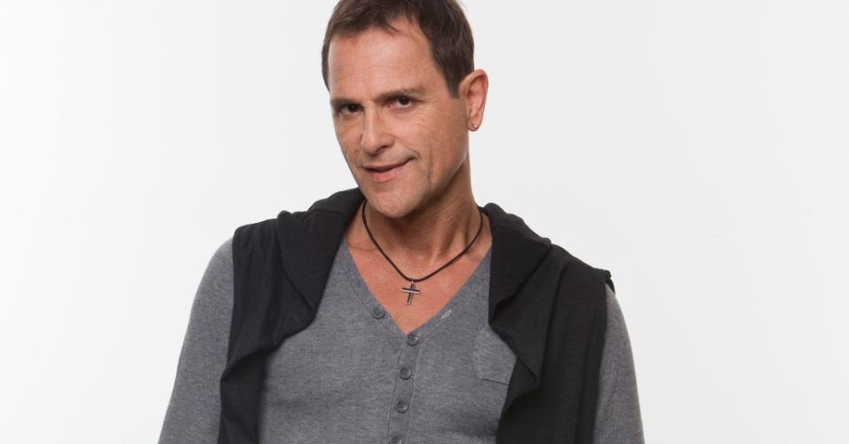 """Sylvinho Blau Blau, cantor de 54 anos, fez sucesso na década de 80 com o hit """"Meu Ursinho Blau Blau"""""""