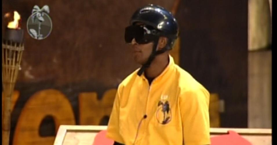 Lui Mendes, o vencedor, se machucou durante a prova  (31/5/12)